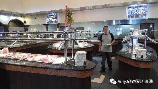大型自助餐厅,投资移民绝好机会