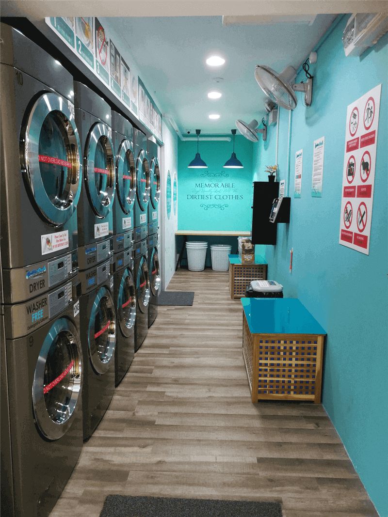 24 Hour Coin-Operate Laundry
