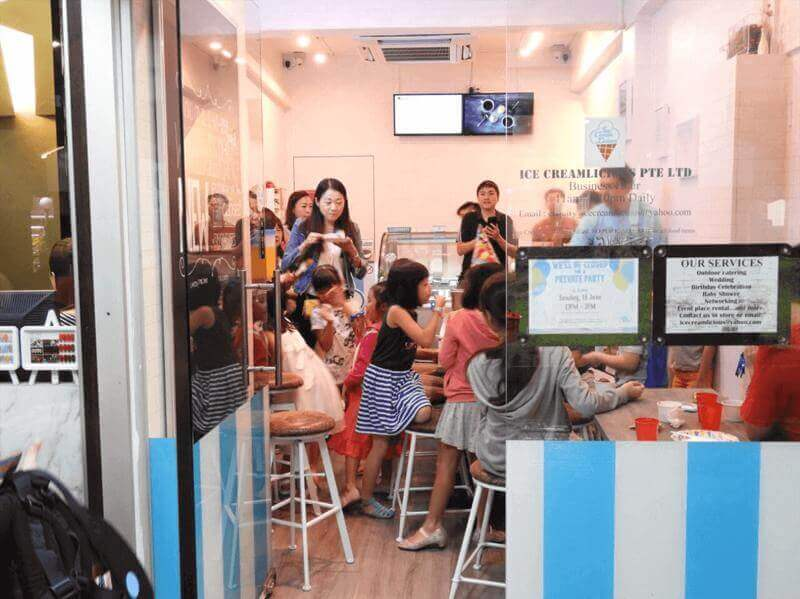 Profitable Ice Cream Cafe For Takeover