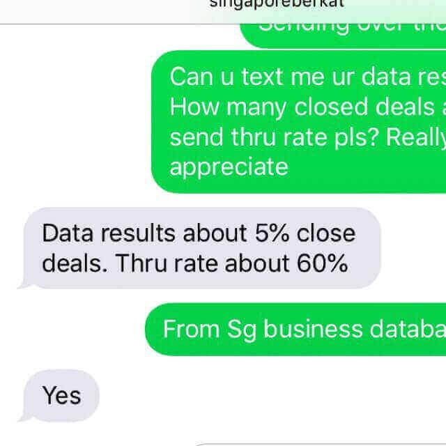 2019 SG Data Deal! B2B/B2C & Telemarketing Database !Boost KPI/Revenue!