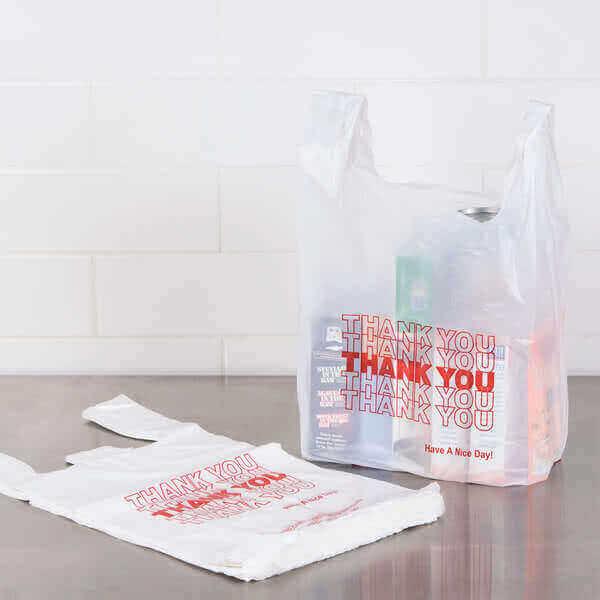 Kav Imports - Plastic T-Shirt Bags Online