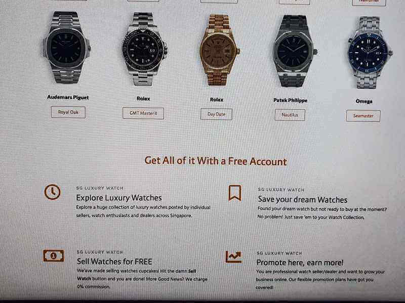 Luxury watch market place! Looking For Investors 50K To 100K
