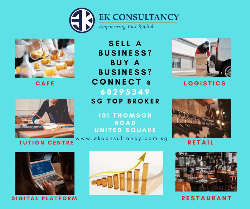 SELL Companies? Investors sourcing? EK consultancy is the choice Broker