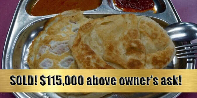 SOLD--Highly Profitable Prata F&B For Sale (David 91455466)