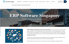 ERP & CRM Solutions Company For Sale